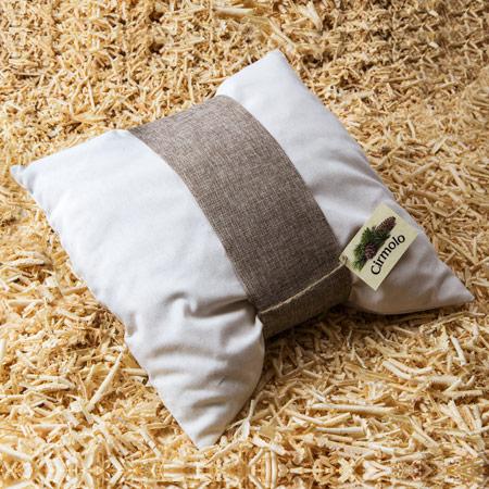 cuscino in cirmolo
